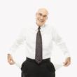 businessman with empty pockets.