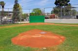 little league baseball field poster