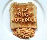 sex drugs rock roll toast poster