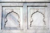 taj mahal marble details