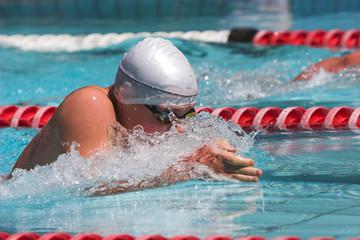 breaststroke lunge