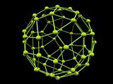 green molecule poster