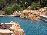 beautiful swimming pool poster