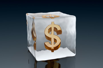 frozen dollar
