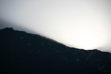 nepal trekking sunrise