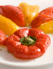 baked sweet pepper