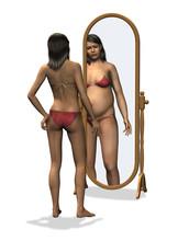 Anoreksja - zniekształcony obraz ciała