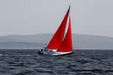sailboat moving fast