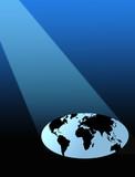 world under spotlight poster