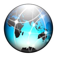 terre bleu satellite