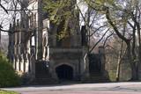 gothic mausoleum poster