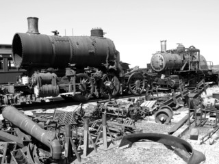 steam engine decay