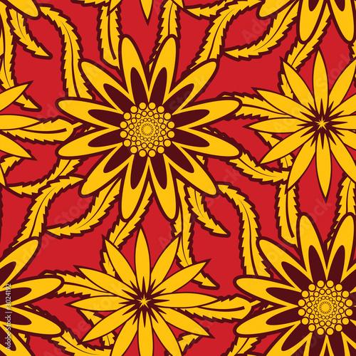 vintage floral wallpaper. vintage seamless floral