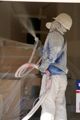 construction ,plastering