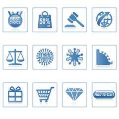 web icons : online shopping ii