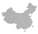 karte china poster