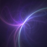 light fantastic rays 3d poster