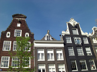 housefront in amsterdam