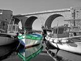 un bateau au vallon des auffes