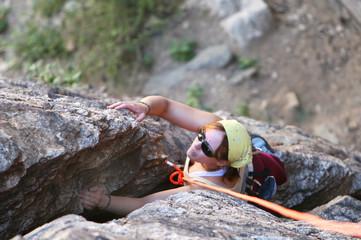 crack climber