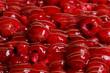 sweet raspberries and jelly