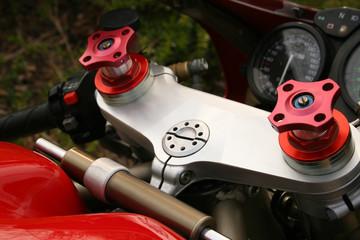 motorbike adjustable shocks