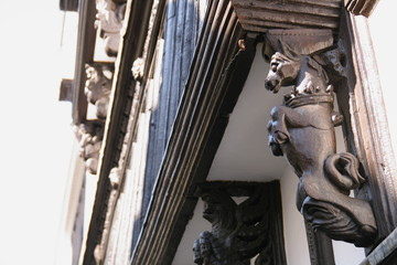 tudor architectural detail