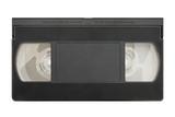 blank video cassette poster