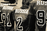 russia - american football team poster