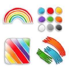 abstrait  couleurs