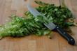 salat geschnitten
