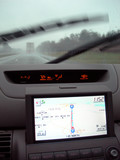gps navigation system in car