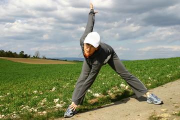 stretching #1