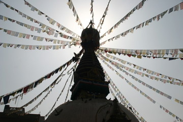 katmandu stupa temple