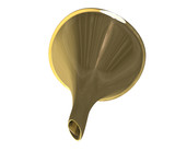 imbuto mettallico in oro - golden metal funnel