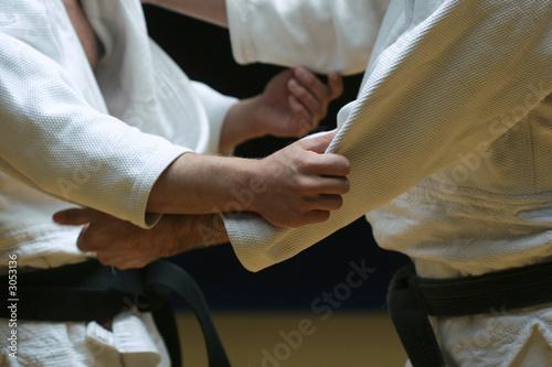 Fotobehang Vechtsporten judo fight