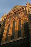 church as the sun rises poster