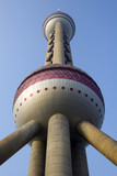 oriental pearl tower poster
