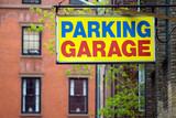 parking garage poster