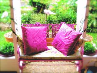 pink seat at monteville