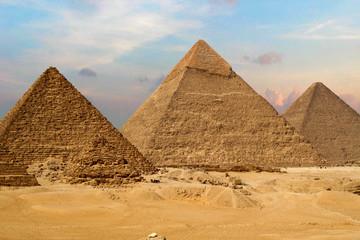Wielkie Piramidy w Gizie
