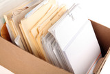 a box of document poster
