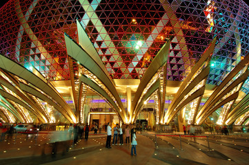 entrance of casino in macau
