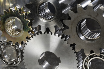 lots of gears in action