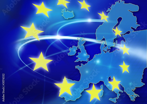 canvas print picture european union