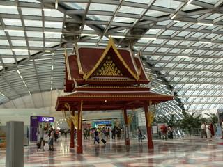 flughafen bangkok suvarnabhumi pagode