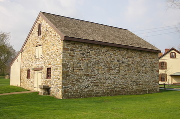 stone carriage house barn