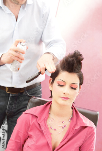 poster of hairstyle salon