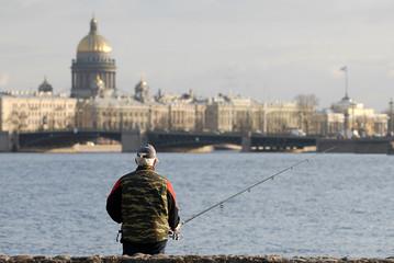 town fisherman