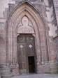 porte d'entrée d'une église de sélestat